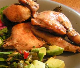 Spatchock Poussin