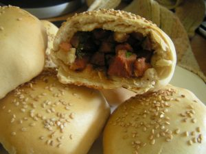 Chinese chicken buns