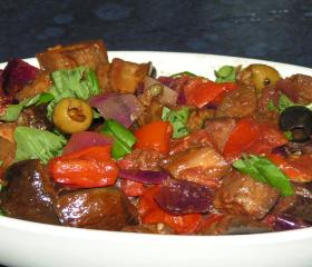 Roasted caponata
