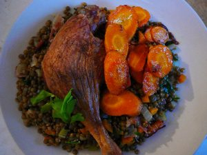 duck-with-lentils-and-carrots