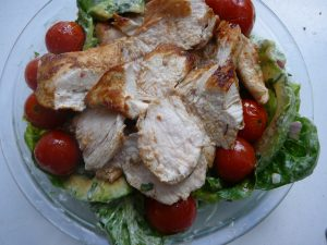 Cumin chicken salad