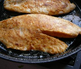 Southern fried tilapia