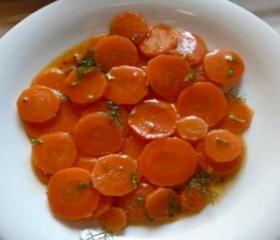 Conserva de cenouras