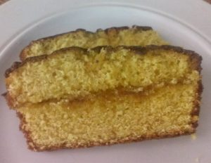 Jaffa drizzle cake