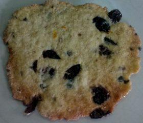 Sweet lemon-olive cookies