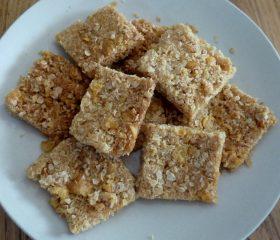 Coconut cornflake squares
