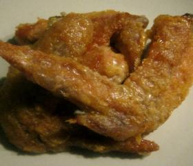 Hot and spicy chicken wings