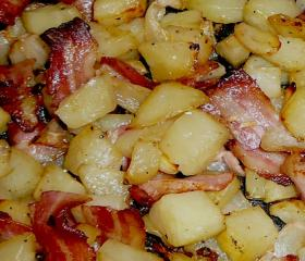 Smoky potatoes