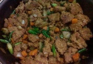 braised pork and veg chinese style