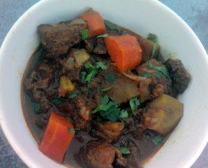 Caribbean Lamb stew